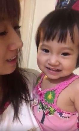 方志友女兒Mia開口說話(圖/翻攝自方志友臉書)