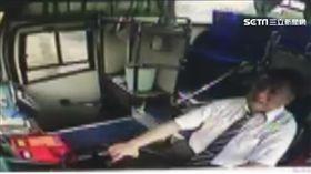 16:9 員林客運撞砂石車 司機掛車頭重傷不治