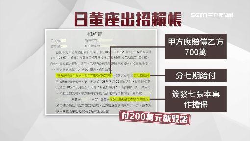 """日男""""出招""""賴帳 人夫恐難追500萬"""