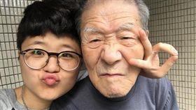 夏德萱,爺爺,失智,中國大陸,微博 圖/翻攝自夏德萱IG