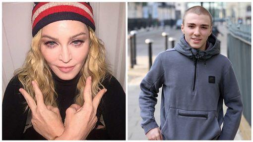 瑪丹娜,洛可,合成圖/臉書、太陽報