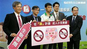 醫師凃佳宏表示,台灣每年發炎性腸道疾病發生率是十萬分一,估計每年有約200多人受該疾病所擾。(圖/楊晴雯攝)