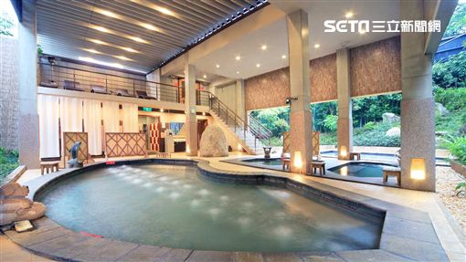 溫泉,泡湯,新北溫泉節,大板根度假飯店。(圖/新北市政府提供)