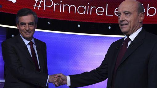 法國,初選,共和黨,費雍,居貝,Francois Fillon,Alain Juppe 圖/美聯社 16:9