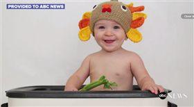 嬰兒火雞,萬聖節,感恩節,火雞,怪物,精靈,仙子,精靈,baby 圖/翻攝ABC NEWS https://goo.gl/sBO7mc