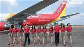 越捷航空,越南。(圖/公關照)