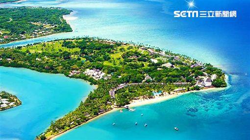 一島一飯店的香格里拉,可盡情享受頂級私島假期。(圖/易遊網提供)
