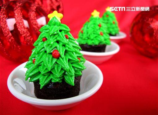 花蓮太魯閣晶英酒店聖誕節甜點。(圖/太魯閣晶英提供)