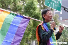 祁家威,同志,同性戀,公聽會,婚姻平權,民法,恐同 圖/記者林敬旻攝