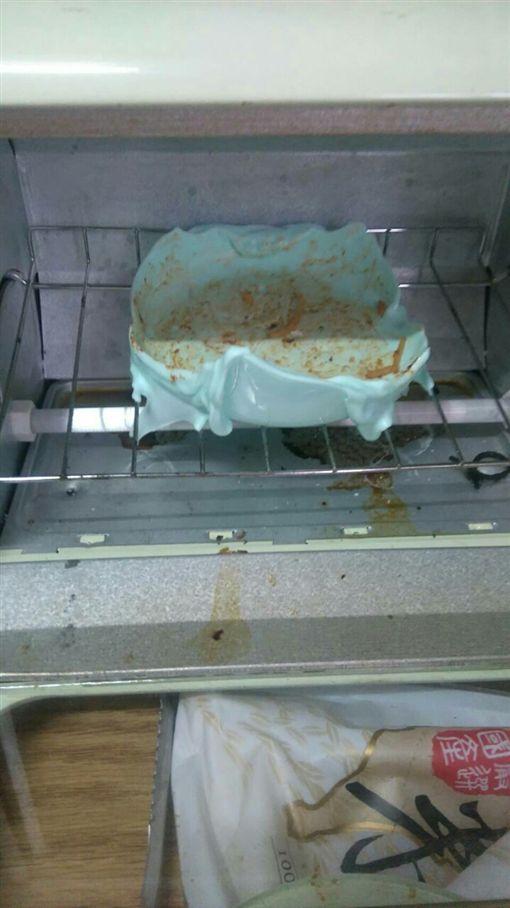 微波爐,烤箱,室友,義大利麵,笨板,PTT 圖/翻攝自PTT