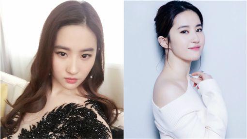 劉亦菲「祖傳三代」全是古典美女...