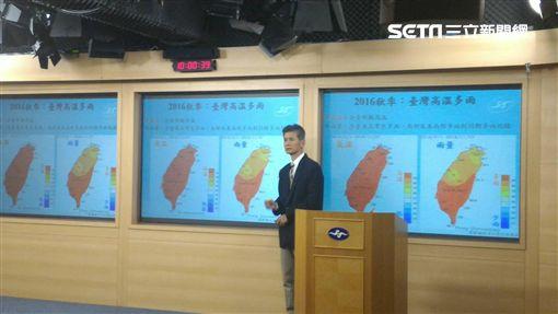 氣象預報中心副主任商俊盛:冬季氣溫偏暖仍有寒流、雨量偏少
