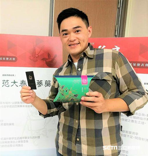 ▲范大春堂蔘藥行以在地國際化為特色,將所處萬華區域之加蚋六庄文化導入品牌經營。(圖/楊晴雯攝)