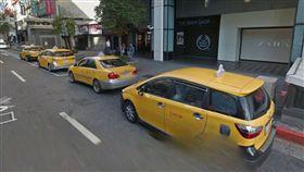 計程車,小黃,排班,糾紛,聲援,癱瘓交通,塞車 (Google Map)