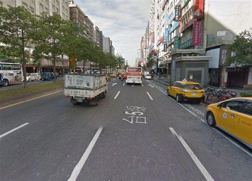 計程車,小黃,排班,糾紛,聲援,癱瘓交通,塞車(Google Map)