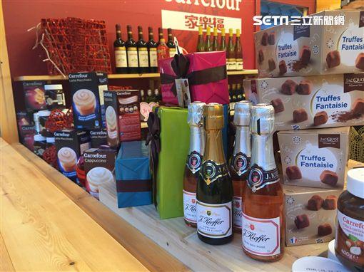搶先看!見證法國美食浪漫 家樂福插旗耶誕市集