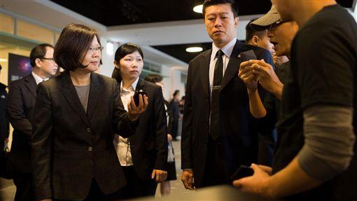 蔡英文出席「第十二屆台灣駭客年會HITCON Pacific 2016」