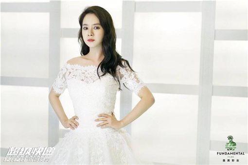宋智孝,婚紗,女主角,超級快遞,劇照,白紗/Running Man 台灣之家臉書