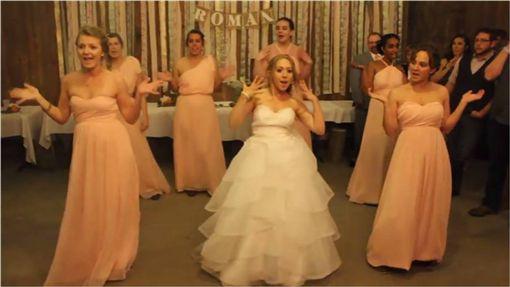 婚禮,結婚,伴娘,伴郎,新郎,新娘,長相,reddit 圖/翻攝自YouTube