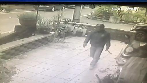怪盜上門藝品店損失數十萬 監視器慘遭噴漆