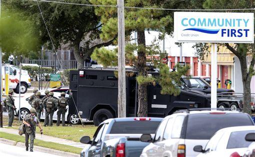 佛羅里達,搶案,人質,搶銀行,Jacksonville (美聯社/達志影像)