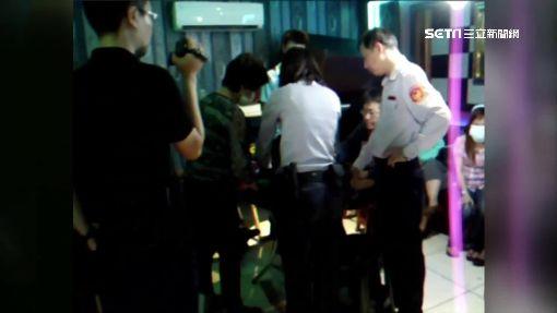 警破職業賭場 懷胎女賭客受驚孕吐