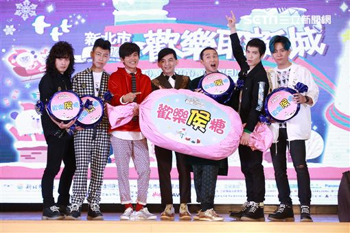 20161202-「巨星耶誕演唱會」卡司發布記者會蕭敬騰、獅子合唱團 主持人 黃子佼、浩角翔起
