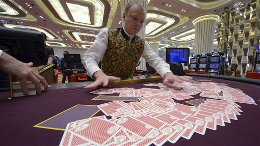 博弈、賭博、遊樂、撲克牌、賭徒(圖/路透社/達志影像)