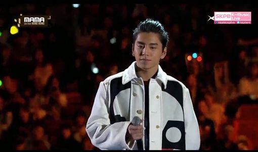 MAMA,香港,Mnet亞洲音樂大獎,王大陸 圖/翻攝自直播網址skpb k-pop live