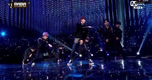 MAMA,香港,Mnet亞洲音樂大獎,表演,GOT7圖/翻攝自直播網址skpb k-pop live