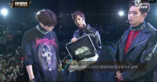 MAMA,香港,Mnet亞洲音樂大獎,表演,GOT7 圖/翻攝自直播網址skpb k-pop live