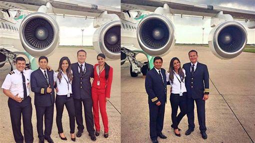 巴西足球隊墜機、女副機長、艾莉兒思(Sisy Arias)/IG