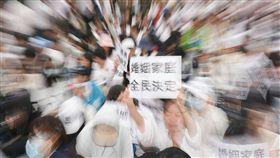 同性婚姻,婚姻平權,同志,反同,挺同,跨性別,百萬家庭站出來,反同婚,下一代幸福聯盟,遊行-記者林敬旻攝