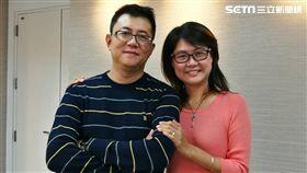 親子作家陳安儀老公蘇健宏,在今年健檢檢查出腦部長了顆腦血管瘤,幸好及時治療撿回一命。(圖/楊晴雯攝)