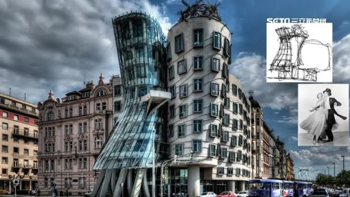 世界8醜建築!捷克跳舞房 像扭曲輾壓過