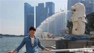 張軒睿造訪新加坡 路邊櫻花妹也瘋狂