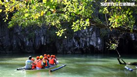 新世界七大奇景之一:菲律賓巴拉望地底河流。(圖/記者簡佑庭攝)