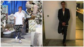 小賈斯汀,Justin Bieber,合成圖/每日郵報、臉書