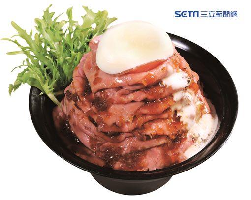 滿滿的大燒肉!牛角次男坊玫瑰火山丼台北101限定爆發