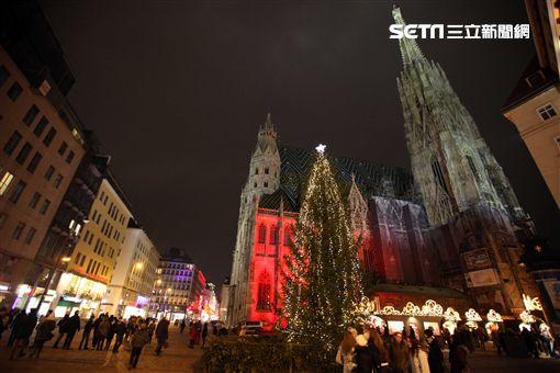 旅遊,奧地利,聖誕節,耶誕市集,聖誕市集,維也納。(圖/記者簡佑庭攝)