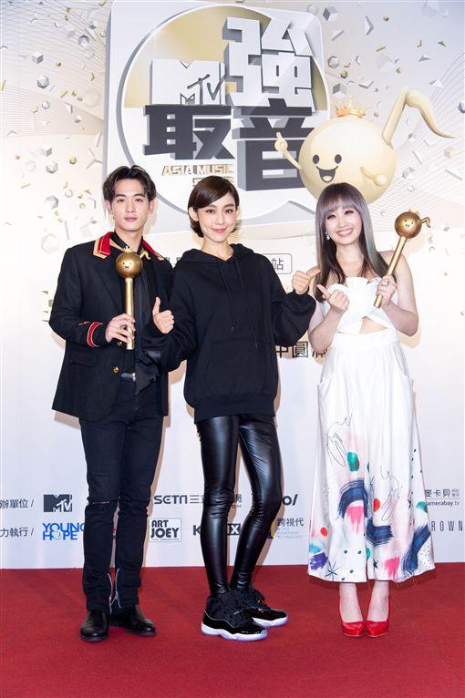 范瑋琪,小樂,朱俐靜(圖/MTV提供)