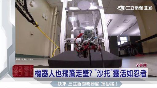 機器人像「跳蚤」!定點可彈1公尺高