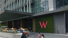 W HOTEL/Google Map