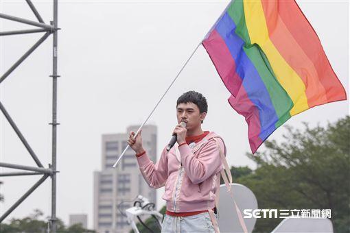 hush,同性戀,同志,婚姻平權,民法,反同,讓生命不再逝去,為婚姻平權站出來音樂會 圖/記者林敬旻攝