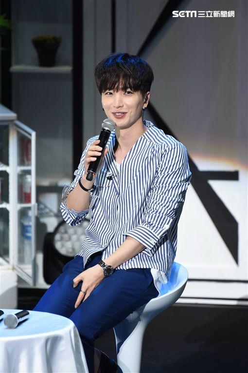 韓團Super Junior隊長利特來台舉辦個人見面會與粉絲相見