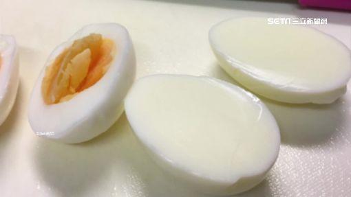 蛋黃去哪了?!「蛋白」蛋出現機率極低-水煮蛋-