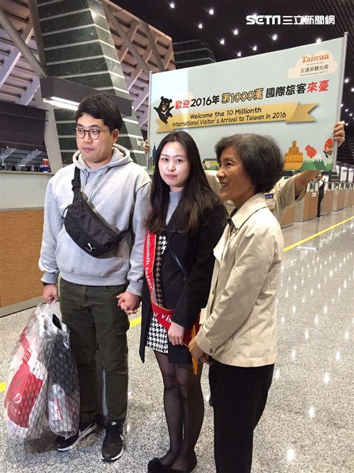 不靠陸客!第一千萬名旅客來自韓國