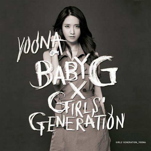 連五年任BABY-G代言人 少女時代錶情不一