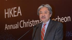 香港財政司司長曾俊華(圖/中央社)