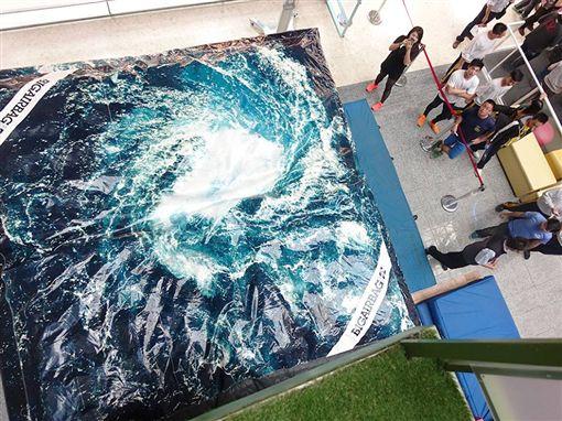 叫破喉嚨!亞洲最高立體旋轉溜滑梯 16秒急速落地(圖/科工館臉書)